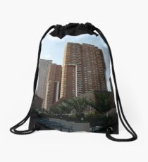 New York, Manhattan, #New York, #Manhattan Drawstring Bag