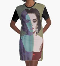 Gonna Leave You Graphic T-Shirt Dress
