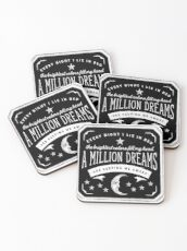 A Million Dreams (The Greatest Showman) Coasters