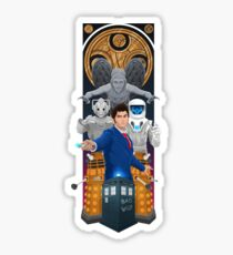 Time Lord Victorious Sticker