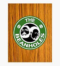 The Beanholes Woodgrain Photographic Print