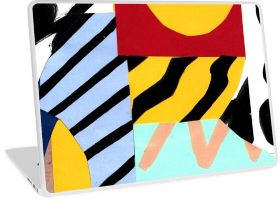 Quot Collage 02 Quot Laptop Skin By Marceloromero Redbubble