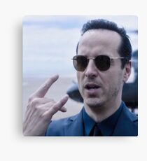 Moriarty is the new punk Canvas Print