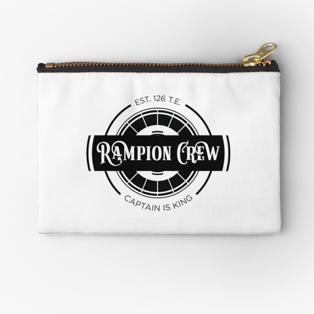 Lunar Chronicles Rampion Crew Zipper Pouch