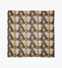 Rusty Letter A Scarf
