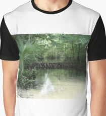 Beaver Dam and Pond on Econfina Creek Graphic T-Shirt