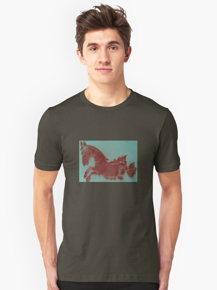 red.horse Unisex T-Shirt Front