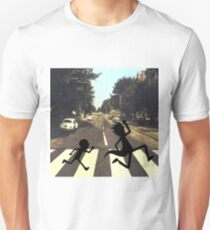 Abbey Road Rick and Morty Style Unisex T-Shirt