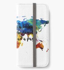 Travel Journal iPhone Wallet/Case/Skin
