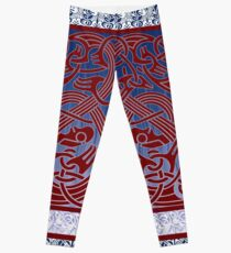 Nordic Inspired Borre Style Viking Age Design with a Modern Twist. Leggings