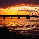 Trestle Sunset by KarenDinan