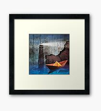 The Fake Beacon of Hope Framed Print