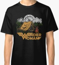 Wander Woman Funny Camping Love Gift for Women T-shirt Classic T-Shirt