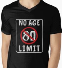 No Age Limit 80th Birthday Gifts Funny B Day For 80 Year Old Mens V