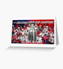 Stanley Cup Champs 2018!! Greeting Card