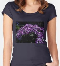 Hide and Seek - Bee among the Blossoms Women's Fitted Scoop T-Shirt