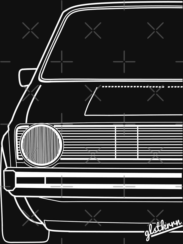 Golf 1 Mk1 Caddy 14d Quot Silhouette Quot Unisex T Shirt By