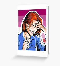 Barbara Gordon Greeting Card