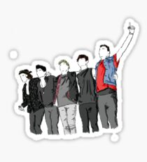 one direction group [3] Sticker