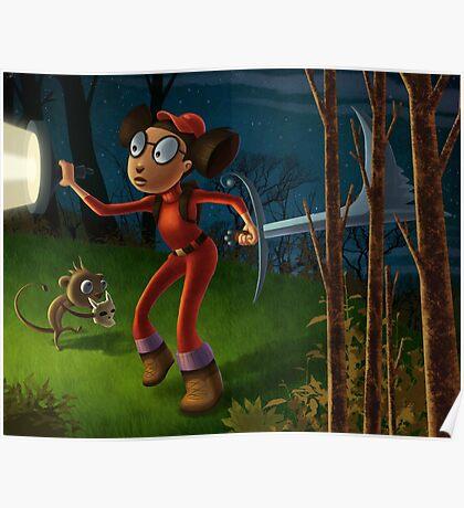 Alicia's adventure Poster