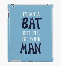 Bat Funny Geek Nerd iPad Case/Skin