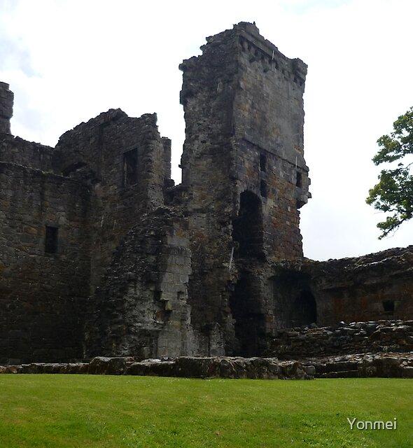 Aberdour Castle, Fife by Yonmei