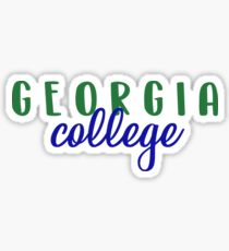 Georgia College and State University  Sticker