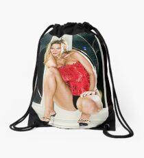 Czech Corset Drawstring Bag