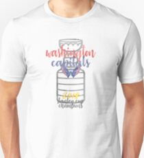 Washington Capitals Stanley Cup Champions Watercolor Unisex T-Shirt fd59535cb