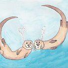 Otter love 2 by JenaBenton