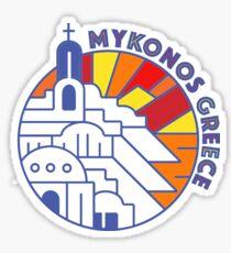 Mykonos Greece Sticker