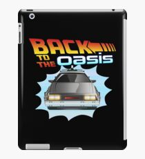 BACK TO THE OASIS iPad Case/Skin