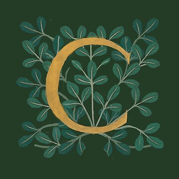 Forest Leaves Letter C 2018 by Donnahuntriss