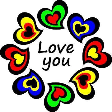 Love You by glowdesigns