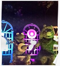 Kermit and Miss Piggy- EPCOT Flower and Garden Show Poster