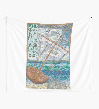 These and Other Things Wall Tapestry