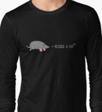 Chemistry Mole - The Scientific Mole Long Sleeve T-Shirt