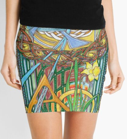 Alpha and Omega Mini Skirt