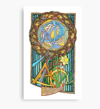 Alpha and Omega Canvas Print