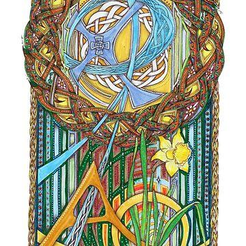 Alpha and Omega by lindscriptorium