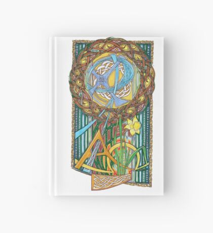 Alpha and Omega Hardcover Journal