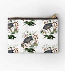 Beautiful black flower Studio Pouch