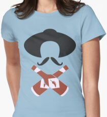 Hot Sauce Bandito Funny Geek Nerd Womens Fitted T-Shirt