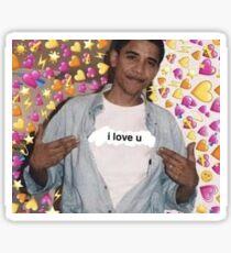Obama wholesome Sticker