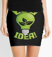 What An Eco Idea Funny Earth Day Mini Skirt