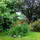 My Secret Garden # 2 by Linda Miller Gesualdo