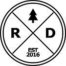 Ruffitt Design Logo Sticker by RuffittDesign