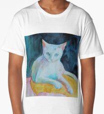 A cat called snowman Long T-Shirt