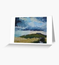 Ingleborough, Yorkshire Dales Greeting Card
