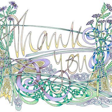 Thank You by lindscriptorium